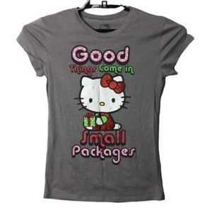 Hello Kitty Good Things Come In Small Packages Tee